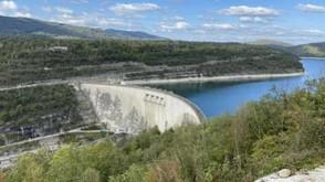 Une fresque géante sur le barrage de Vouglans !