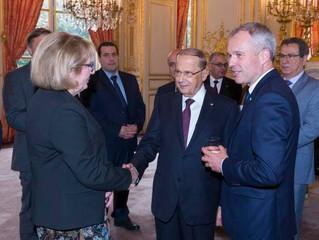Le Président de l'Assemblée nationale, François de Rugy, a reçu ce matin à l'hôtel de Lassay