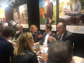 Visite du  salon international l'agriculture