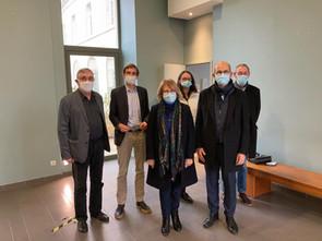 Rencontre avec Rudologia dans le cadre de ma mission recyclage des masques
