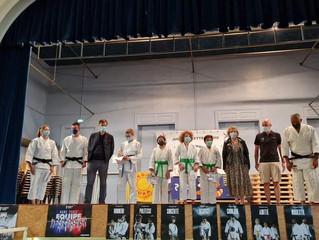 Remise de ceintures au Judo Club Bletteranois