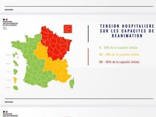 Le Jura apparaît en rouge sur la carte de l'épidémie Covid 19, je demande le réexamen de ce classeme