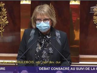Mon intervention à l'Assemblée sur le recyclage des masques