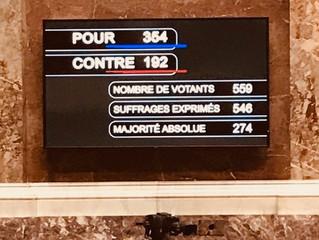 Vote du projet de loi de financement de la sécurité sociale pour 2018