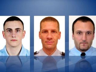 Cérémonie d'hommage aux militaires de la Gendarmerie nationale décédés dans le Puy-de-Dôme.