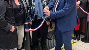 Inauguration de la Maison des Services à Poligny avec Joël Giraud ministre de la ruralité