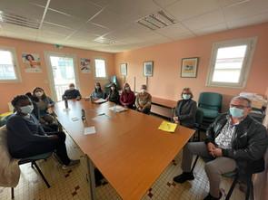 Visite du Service de Soins Infirmiers à Domicile (#SSIAD) d'Orgelet