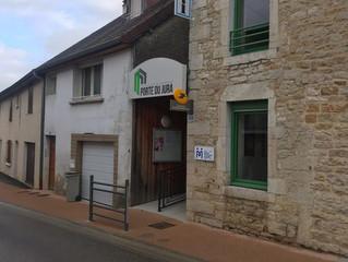 Visite de la maison France Services de Beaufort Orbagna