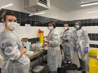 Dans le Jura l'épidémie ralentit et la vaccination s'accélère encore.