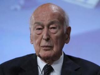 Valery Giscard d'Estaing ancien président de la République nous a quitté