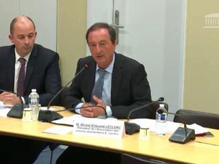 Audition de Michel Edouard Leclerc sur les méthodes de ses centrales d'achat
