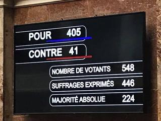Vote à une large majorité du projet de loi « droit à l'erreur »