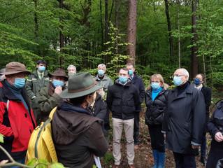 Très fière de notre beau Jura des forêts, retenu parmi 35 lauréats au niveau national