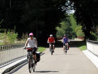 Véloroutes et voies vertes du Jura seront accessibles dès lundi 11 mai