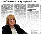 JURA LA DEPUTEE DANIELLE BRULEBOIS S'OPP