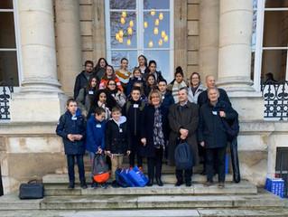 Les collégiens d'Arinthod à l'Assemblée nationale
