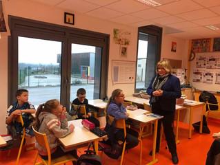 Parlement des enfants : À l'école de Courlaoux