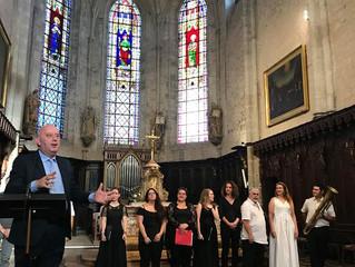 Inauguration de l'orgue de chœur de la collégiale Saint Hyppolite de Poligny