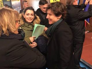 Visite de Madame la Ministre des sports dans le Jura