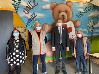 L'épicerie sociale de Lons-le-Saunier au coeur de la crise sanitaire
