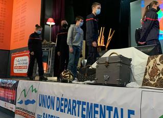 Congrès départemental des sapeurs-pompiers à Moirans