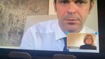 Visio-conférence avec le Ministre des Solidarités et de la Santé