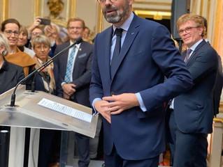 Voeux du premier ministre Édouard Philippe