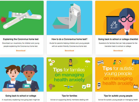 A helpful range of practical resources from Ambitious about Autism