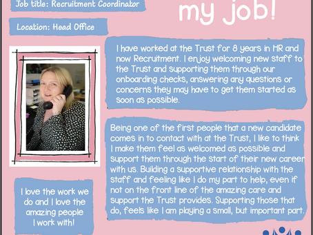 Meet the lovely Anna Baker, our Recruitment Coordinator at KAT