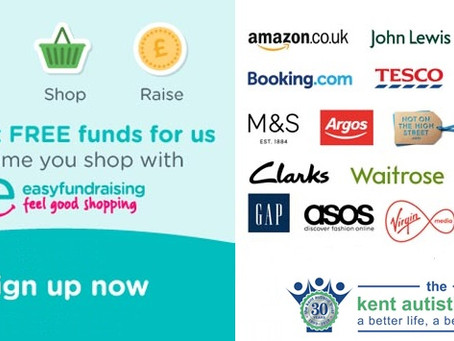 If you are not supporting The Kent Autistic Trust yet on #easyfundraising, please get involved!