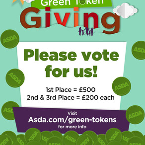 Please vote for us at Asda online!!
