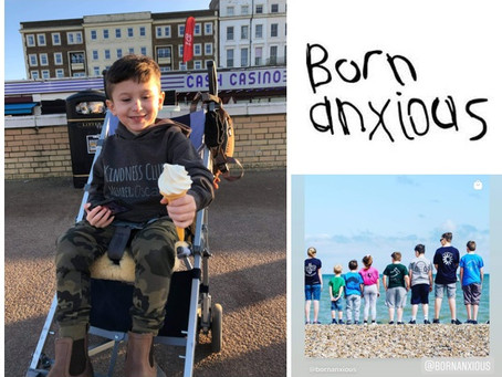 A big thank you to Born Anxious for raising a fantastic £200....