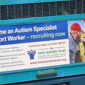 Have you seen one of our recruitment adverts on a local bus?