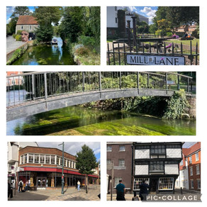 Sunny day trips to Canterbury....