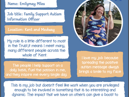Read why our Family Support Information Advisor loves her job!