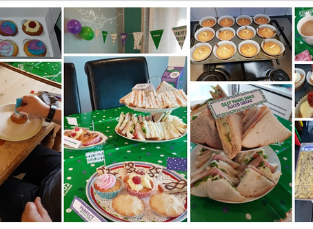 River Drive raise funds for Macmillan....