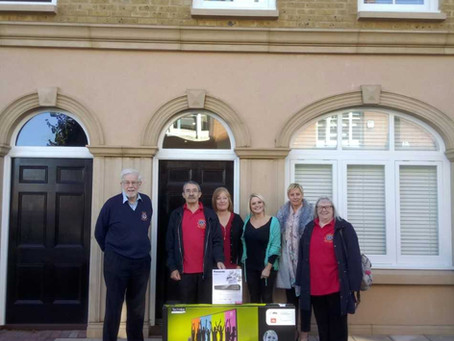 A big thank you to Gillingham Lions Club