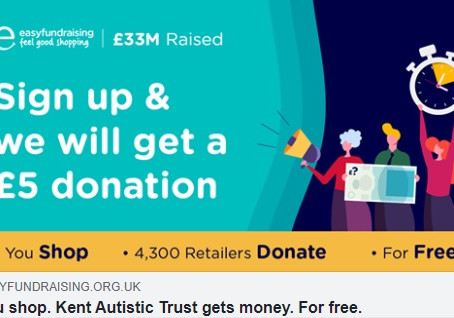 #easyfundraising not supporting us yet, please get involved....
