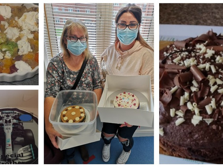Butlers Park Way have been busy baking birthday cakes!!