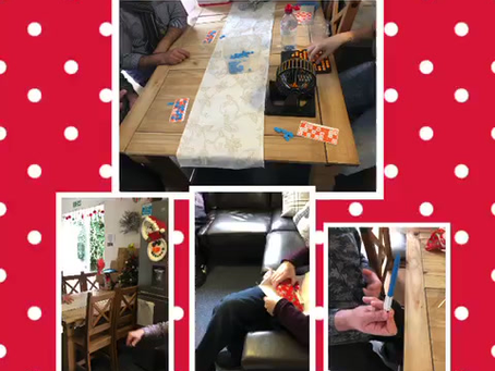 Some fun games enjoyed at our supported living service in Chatham!!