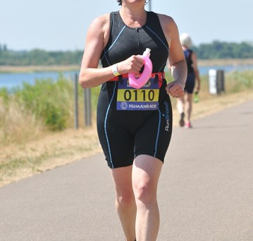 Sponsor Louise!!  Raising funds for Family Support, completing another Triathlon this Sunday....