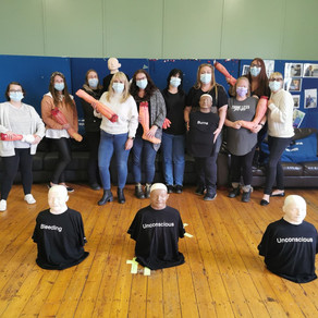 3-day first aid course recently enjoyed by some of our Team Leaders and Managers....