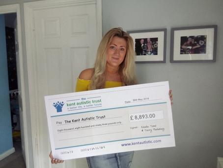 'Fighting for Autism' raises £8,893 for The Kent Autistic Trust