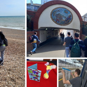 Fantastic day trip to Hastings for ARC....