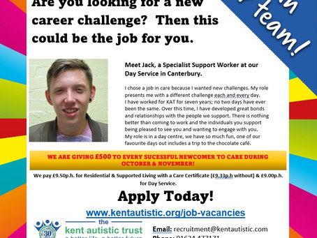 Are you looking for a new career challenge?