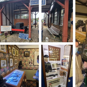 Ashford Resource Centre visit the Kent & Sussex Museum for the day....