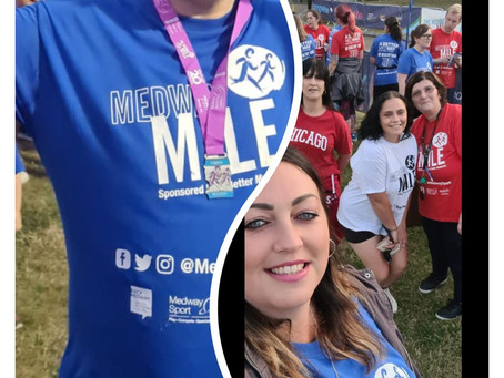 Wayfield Road take part in Medway Mile....
