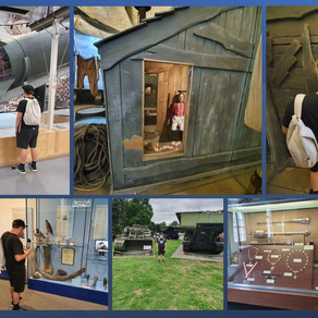 Day trip to The Engineers Museum in Gillingham....