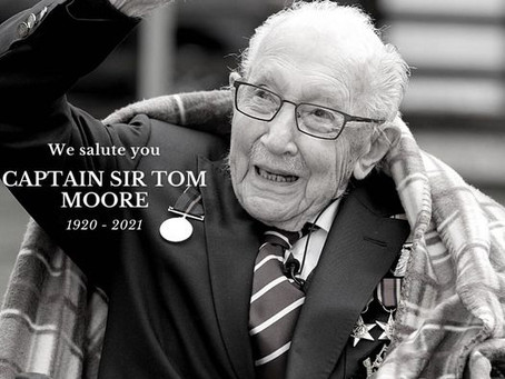 Rest in peace Captain Sir Tom Moore 1920 - 2021