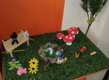 Lock Street's miniture garden....